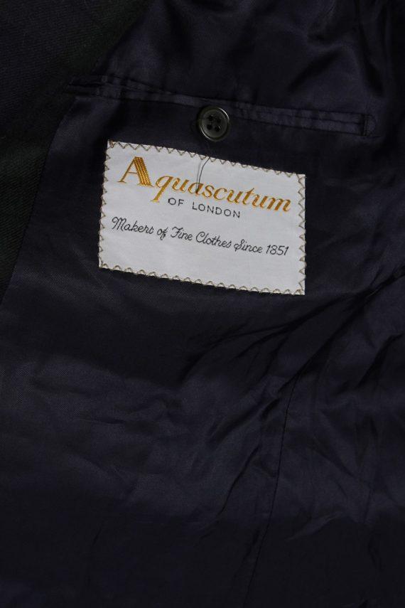 Vintage Aquascutum Mens Checked Jacket - L Multi - BR657-54047