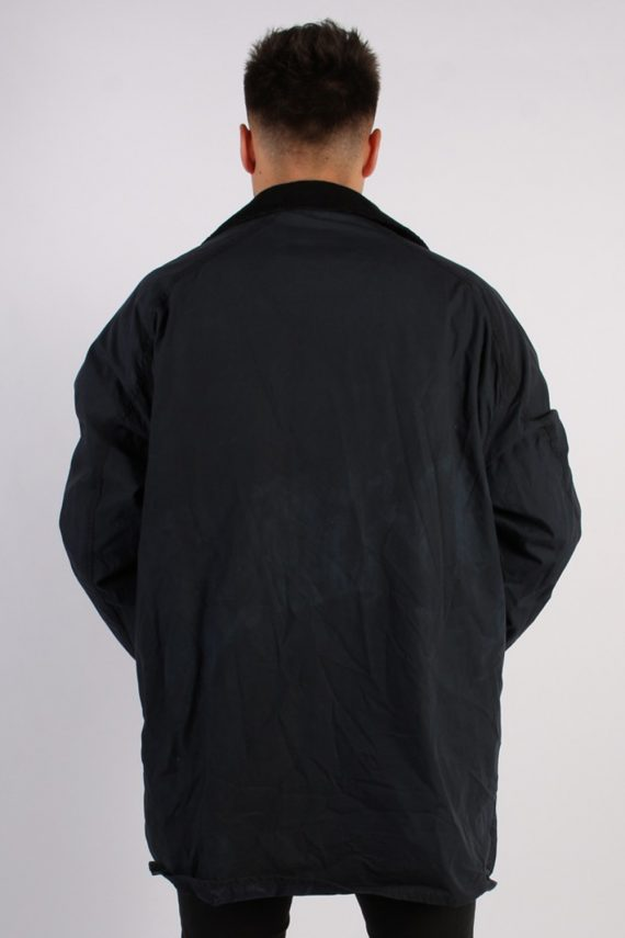 Vintage Barbour Classic Lightweight Jacket - Chest:54 Navy - BR691-54719