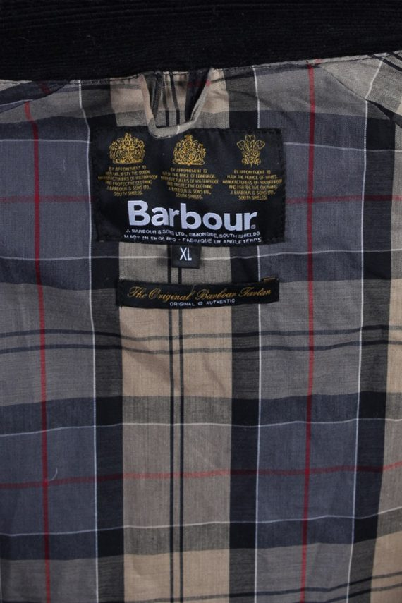 Vintage Barbour Classic Lightweight Jacket - Chest:54 Navy - BR691-54720