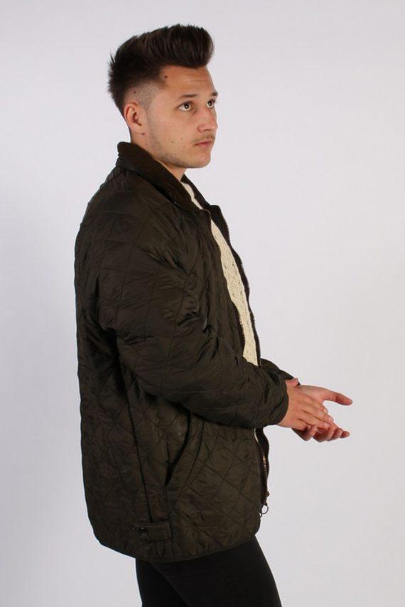 Vintage Barbour Classic Quilt Jacket - Chest:48 Khaki - BR706-54780
