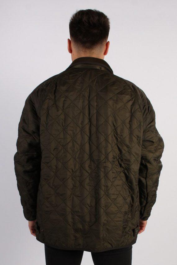 Vintage Barbour Classic Quilt Jacket - Chest:48 Khaki - BR706-54778