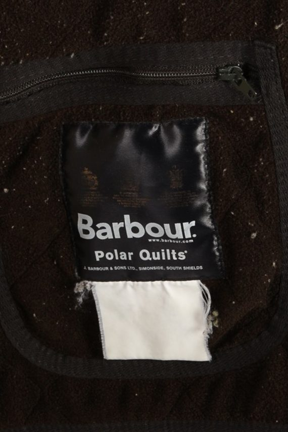 Vintage Barbour Classic Quilt Jacket - Chest:48 Khaki - BR706-54779