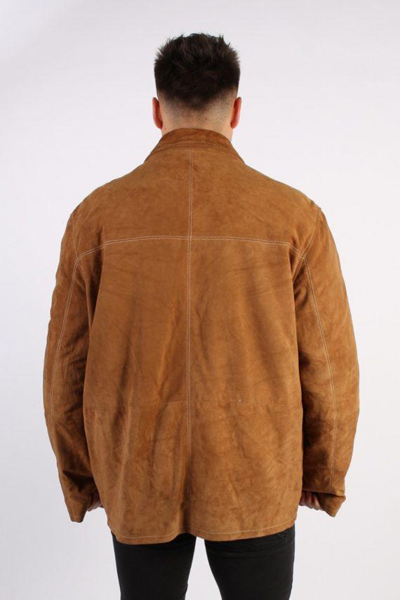 Vintage Werther Matte Suede Coat Chest:51 Brown -C567-54371