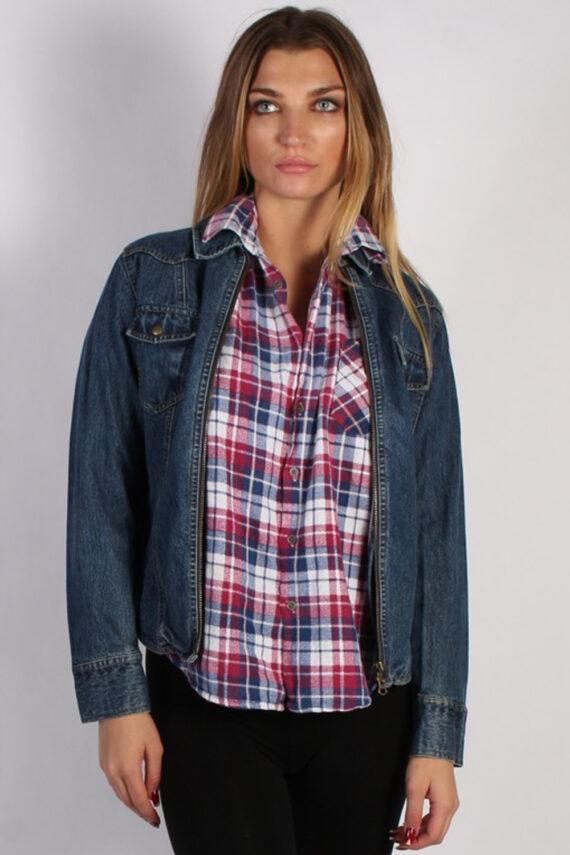 Vintage Arizona Womens Denim Jacket L Navy -DJ1256-0