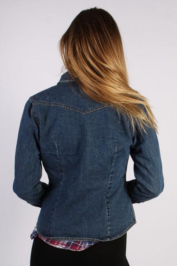 Vintage Arizona Womens Denim Jacket L Navy -DJ1256-53639