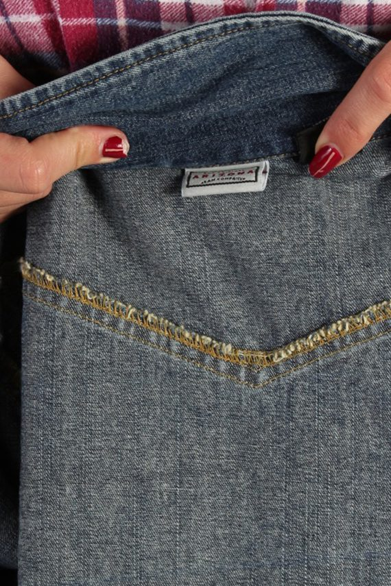 Vintage Arizona Womens Denim Jacket L Navy -DJ1256-53640