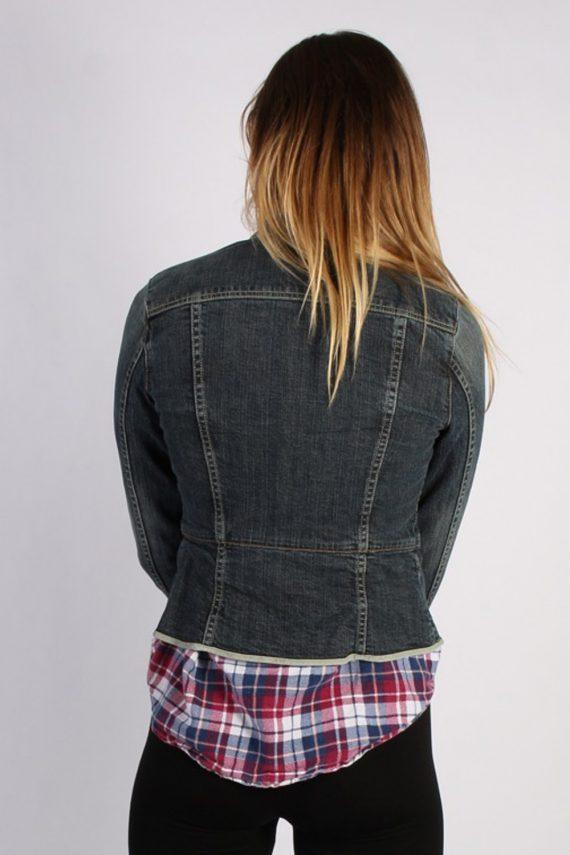 Vintage GAP Womens Denim Jacket XS/S Black -DJ1267-53683