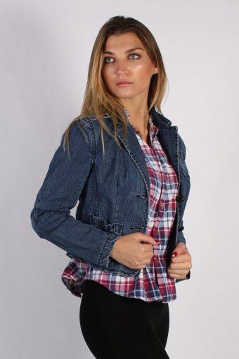 Vintage My Michele Womens Denim Jacket L Navy -DJ1268-53687