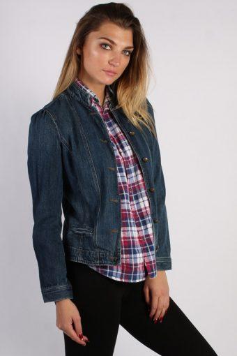 Vintage Chaps Womens Denim Jacket M Navy -DJ1269-53691