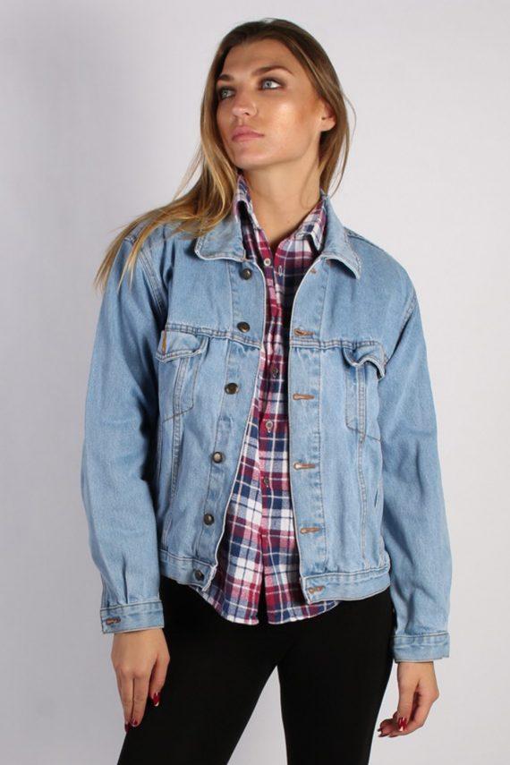 Vintage MC Orvis Unisex Denim Jacket L Blue -DJ1271-53701