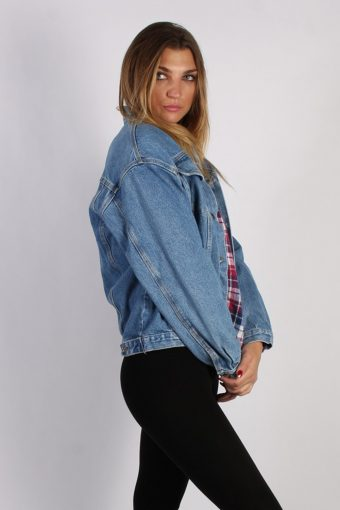 Vintage Timber Jeans Unisex Denim Jacket M/L Blue -DJ1278-53730
