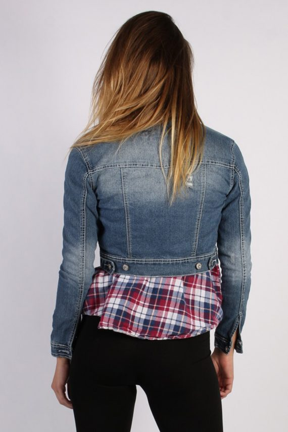 Vintage Amethyst Womens Denim Jacket S/M Navy -DJ1281-53740