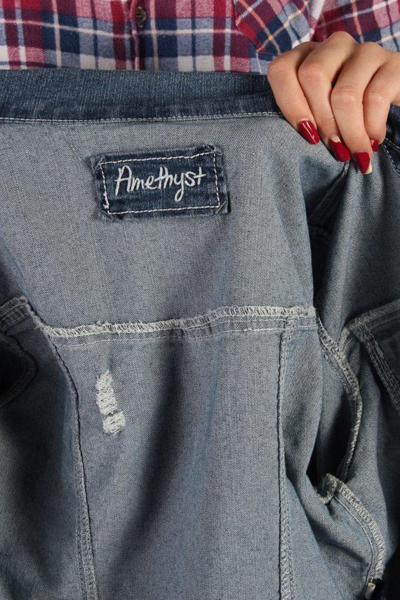 Vintage Amethyst Womens Denim Jacket S/M Navy -DJ1281-53739