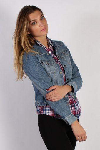 Vintage Old Navy Womens Denim Jacket M Blue -DJ1284-53753