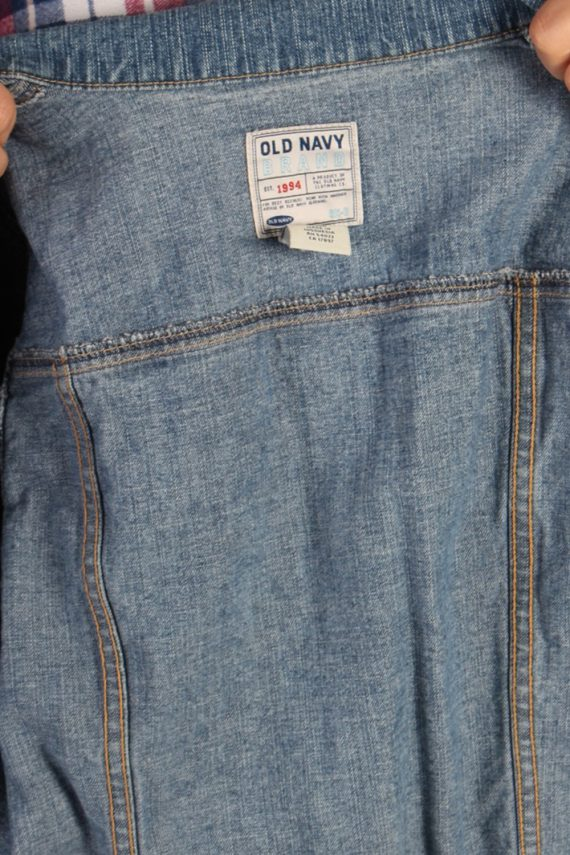 Vintage Old Navy Womens Denim Jacket M Blue -DJ1284-53752