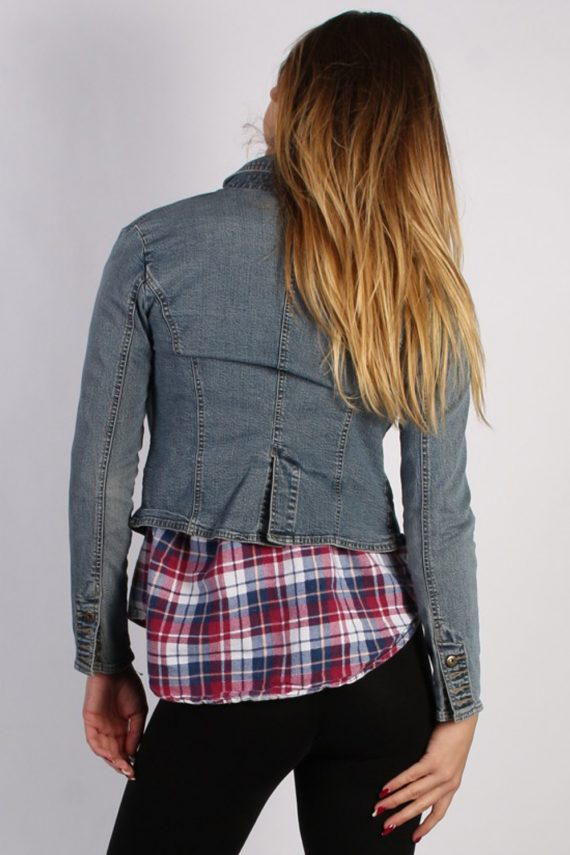 Vintage SO Womens Denim Jacket M Navy -DJ1285-53758