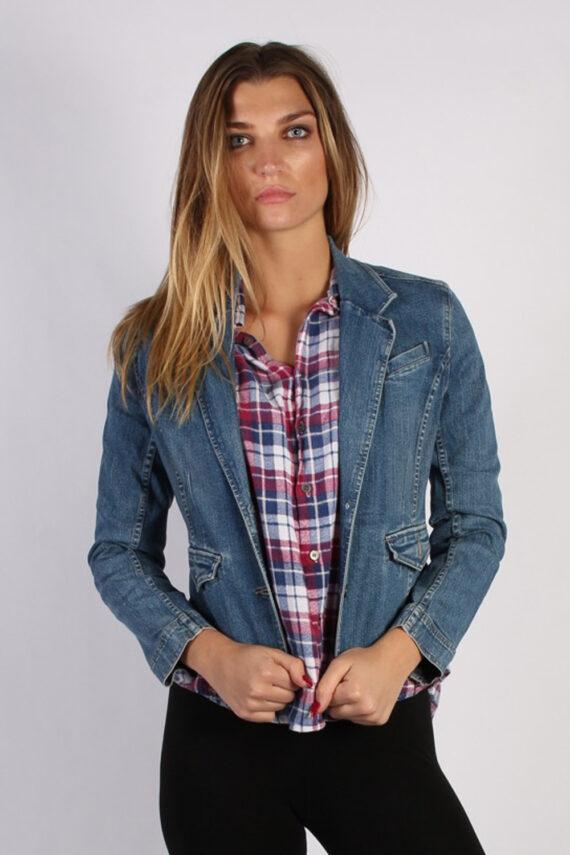 Vintage Sonoma Womens Denim Jacket M Navy -DJ1290-0