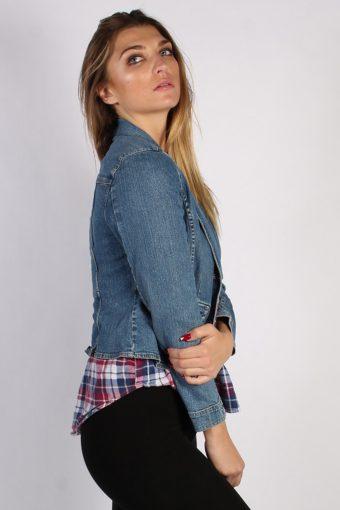 Vintage Sonoma Womens Denim Jacket M Navy -DJ1290-53776
