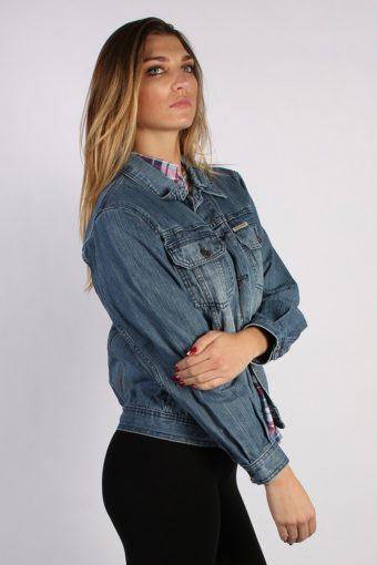 Vintage Rica Lewis Unisex Denim Jacket L Navy -DJ1314-53874