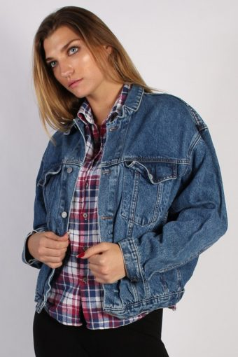 Vintage Other Brands Unisex Denim Jacket L/XL Navy -DJ1315-53877