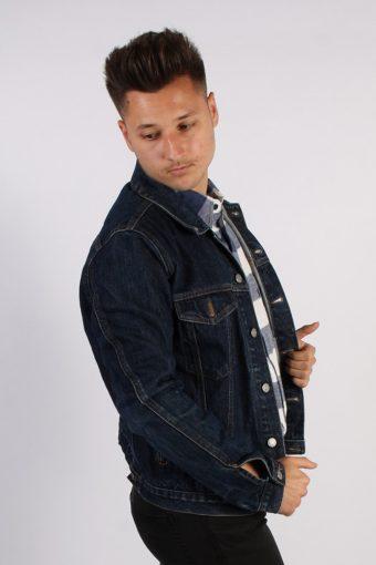 Vintage Guess Unisex Denim Jacket M Navy -DJ1346-54267