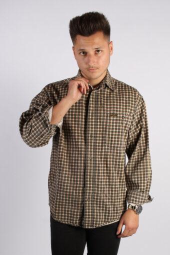 Wrangler Flannel Shirt Checked Men Multi S