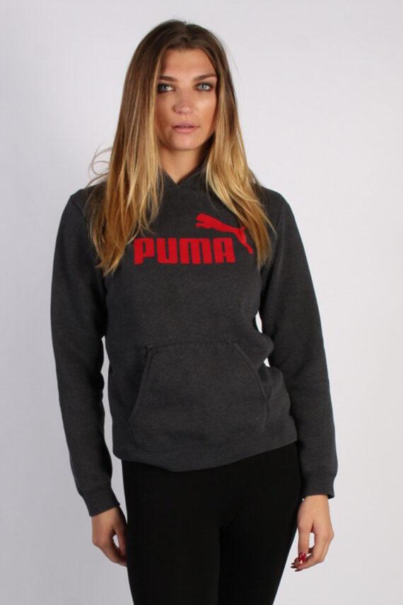 Vintage Puma Sportwear Womens Hoodie L , XL Grey -SW1689-0
