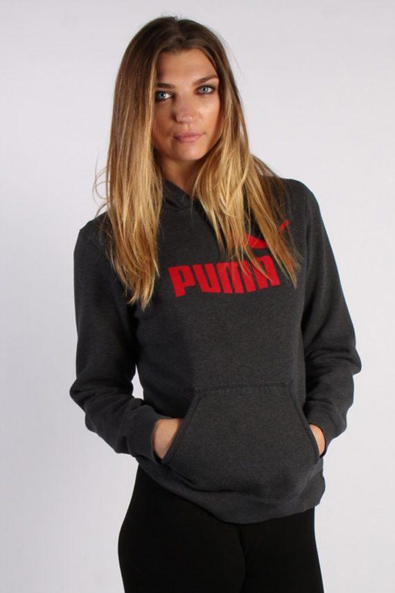 Vintage Puma Sportwear Womens Hoodie L , XL Grey -SW1689-53554