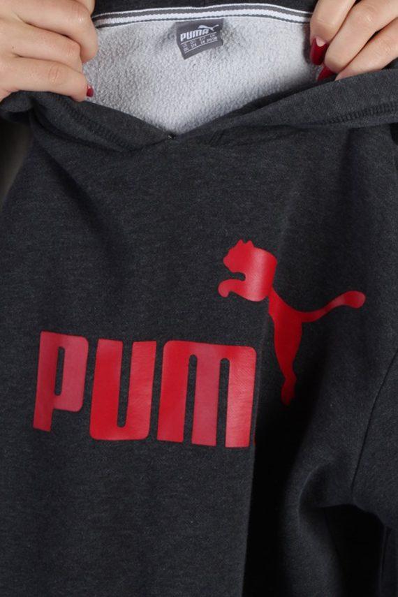 Vintage Puma Sportwear Womens Hoodie L , XL Grey -SW1689-53556