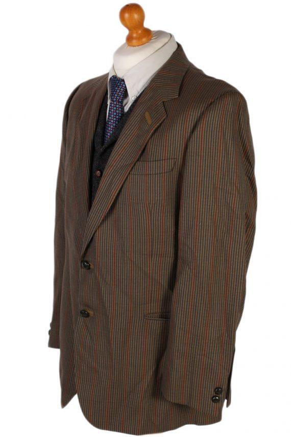 Vintage Mansfeld Exclusive Striped Blazer Jacket - L Multi - BR749-57275
