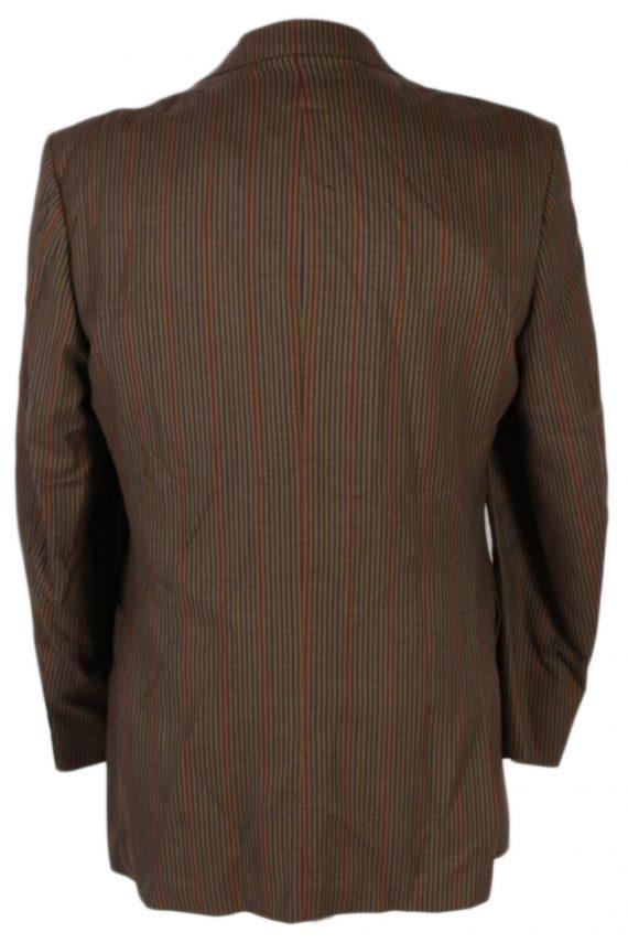 Vintage Mansfeld Exclusive Striped Blazer Jacket - L Multi - BR749-57276
