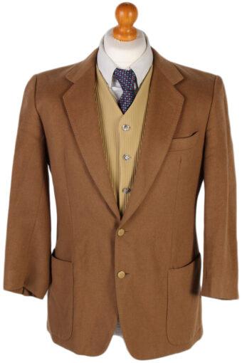 Burberry Adria Camel Blazer Jacket Mocha M