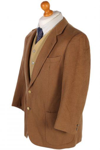 Vintage Burberry's Adria Camel Blazer Jacket - M Mocha - BR761-57323
