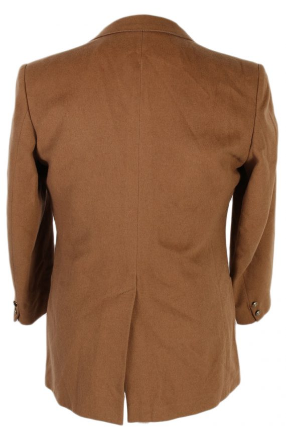 Vintage Burberry's Adria Camel Blazer Jacket - M Mocha - BR761-57324