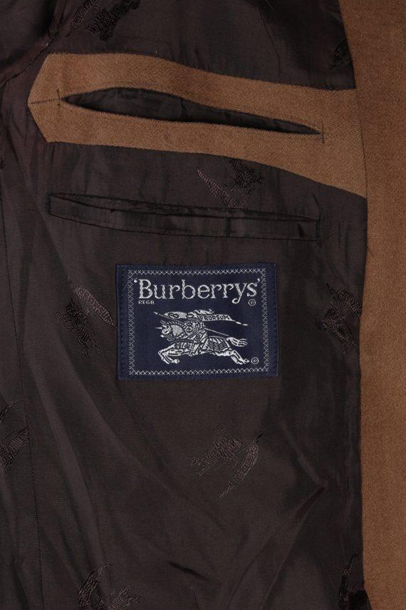 Vintage Burberry's Adria Camel Blazer Jacket - M Mocha - BR761-57325