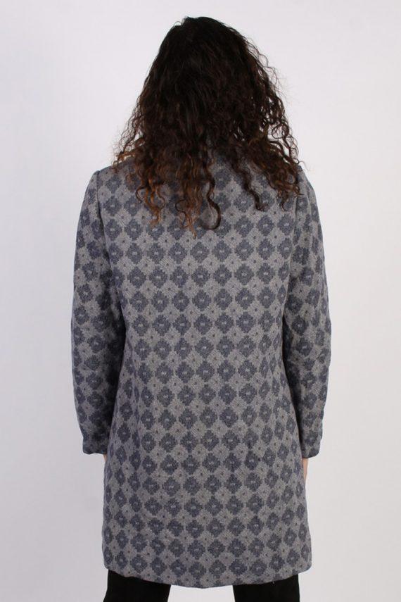 Vintage Other Brands 90s Pattern Coat Bust: 39 Purple -C622-56892