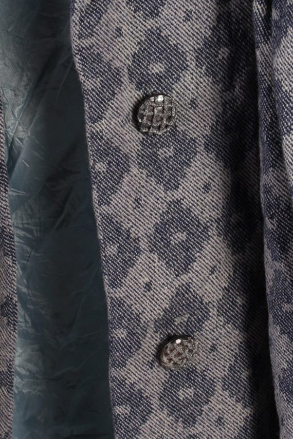 Vintage Other Brands 90s Pattern Coat Bust: 39 Purple -C622-56893