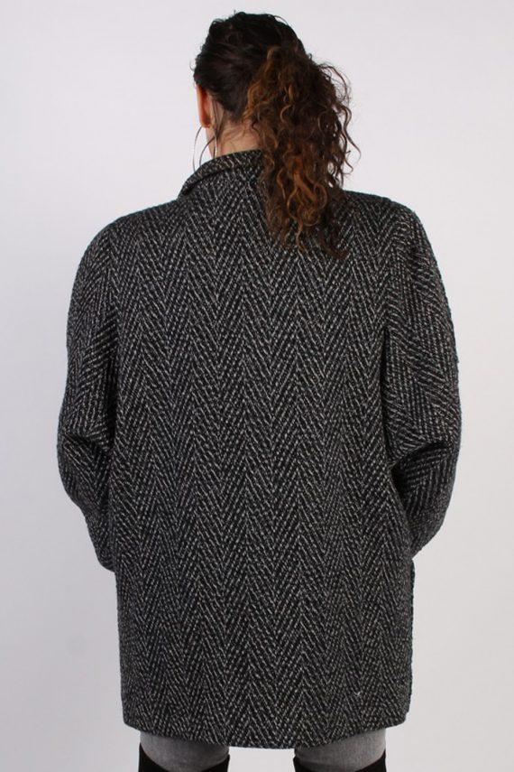 Vintage Other Brands Pattern Herringbone Coat Bust: 47 Multi -C626-56912