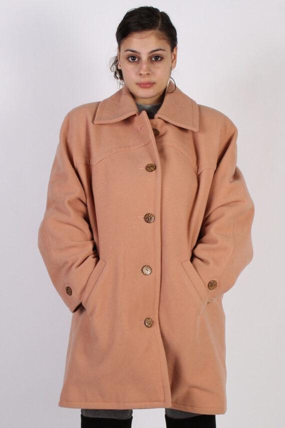 Vintage Other Brands Design Smart Coat Bust: 47 Baby Pink -C628-0