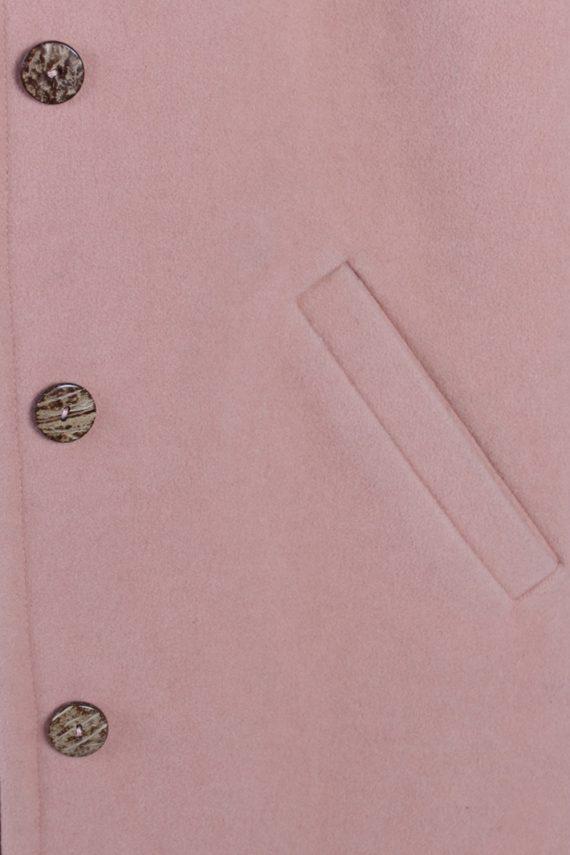 Vintage Other Brands Design Smart Coat Bust: 47 Baby Pink -C628-56921