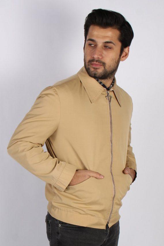 Vintage Kreymborg Mens Casual Smart Coat Jacket M , L Mustard -C693-57179
