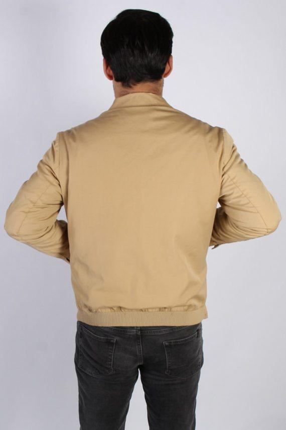 Vintage Kreymborg Mens Casual Smart Coat Jacket M , L Mustard -C693-57180