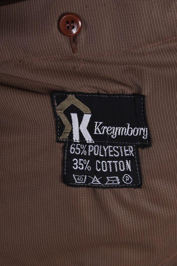 Vintage Kreymborg Mens Casual Smart Coat Jacket M , L Mustard -C693-57181