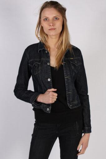 Diesel Ladies Denim Jacket Dark Blue L