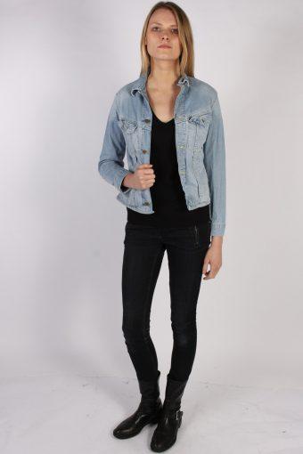 Vintage Lee Womens Denim Jacket Bust:38 Blue -DJ1385-70273