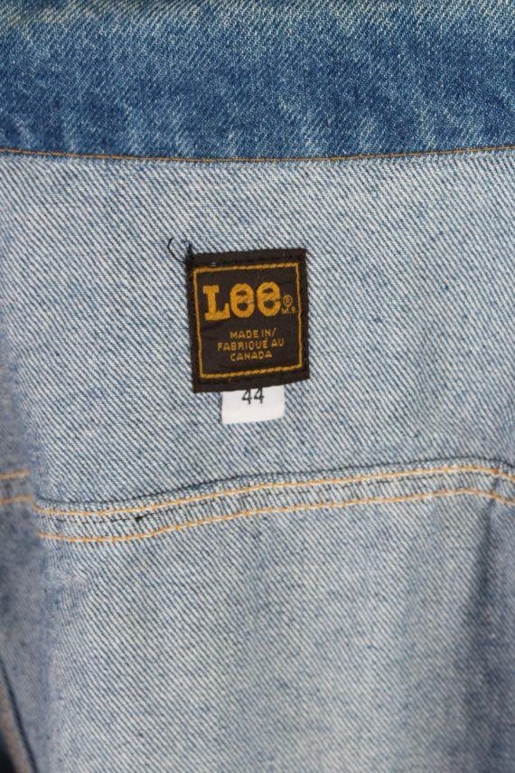 Vintage Lee Ladies Designer Denim Jacket Bust:47 Navy -DJ1386-70281