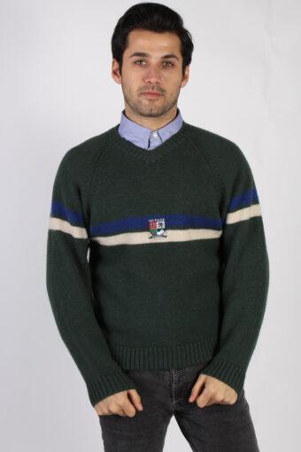 Tommy Hilfiger Alpine Wool Jumper Khaki M