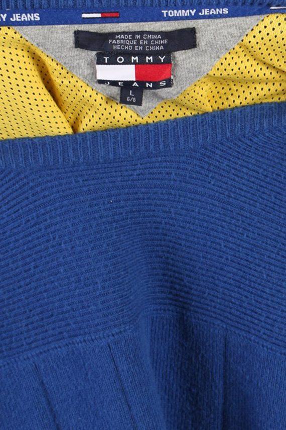 Vintage Tommy Hilfiger Crew Neck Jumper L Blue -IL1157-70980