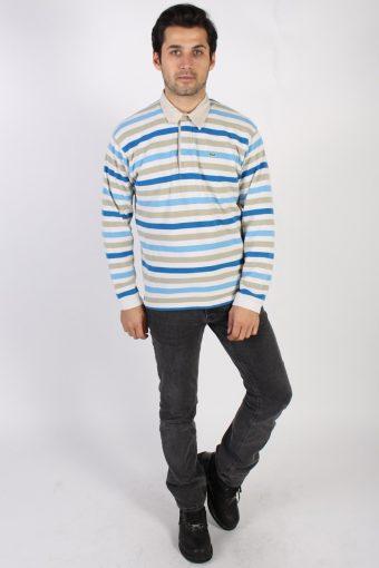 Vintage Lacoste Polo Neck Sweater L Multi -IL1186-71107