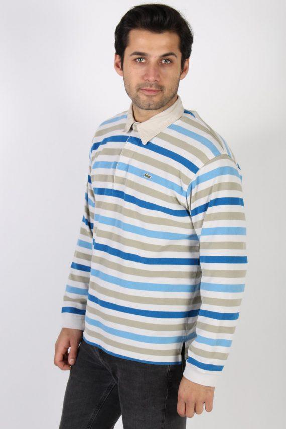 Vintage Lacoste Polo Neck Sweater L Multi -IL1186-71108